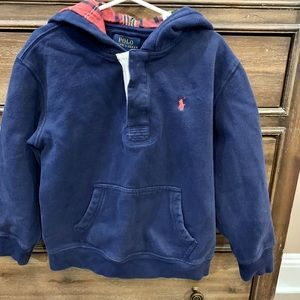 Boys Polo Sweatshirt Size 7